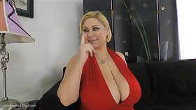Samantha is a venal minded, full-grown woman who is having wild sex with Johnny Champ